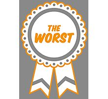 The Worst Medal Photographic Print