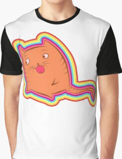 Cat attack - flavored Graphic T-Shirt