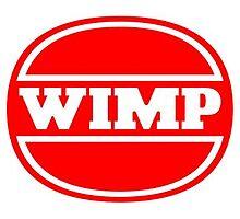Wimp - Wimpy Satire Photographic Print