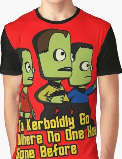 To Kerboldly Go Graphic T-Shirt
