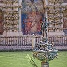 Mercury and Neptune in the Galeria del Grutesco by TonyCrehan