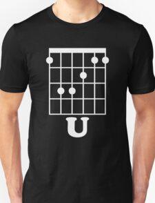 Fun Guitar Tshirt, F Chord U Guitar Tshirt, F*ck You Says On Guitars Chord T-Shirt