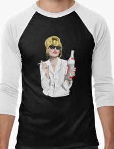 Patsy Stone AbFab Cheers Darling Men's Baseball ¾ T-Shirt