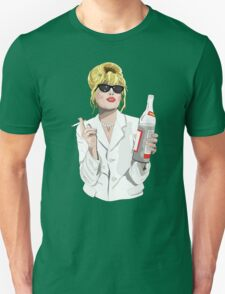 Patsy Stone AbFab Cheers Darling Unisex T-Shirt