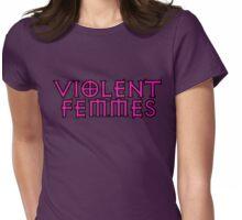 fuschia violent femmes Womens Fitted T-Shirt