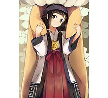 Kuma Miko-Girl Meets Bear-Machi Photographic Print