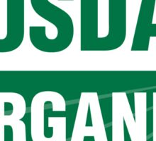 USDA Organic United States Department Of Agriculture Certified Organic Sticker