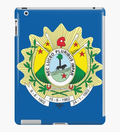 ACRE (BRAZIL) iPad Case/Skin