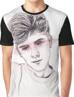 Connor Franta: Streaked Graphic T-Shirt