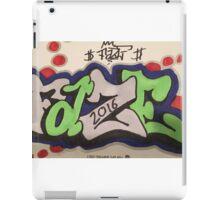 Graffiti things iPad Case/Skin