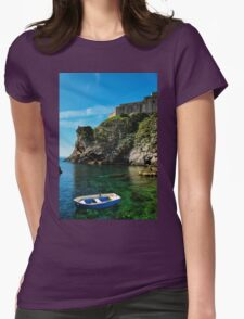 blue boat Womens Fitted T-Shirt