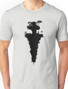 Plastic Beach Island Silhouette (Gorillaz) Unisex T-Shirt