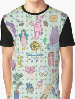 I love colourful animal erasers  Graphic T-Shirt