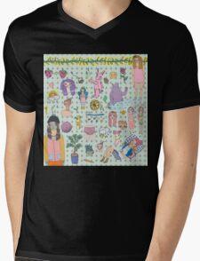 I love colourful animal erasers  Mens V-Neck T-Shirt