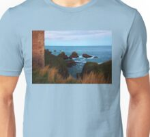 North Sea, Cruden Bay - From Slains Castle - North East coast of Aberdeenshire, Scotland Unisex T-Shirt