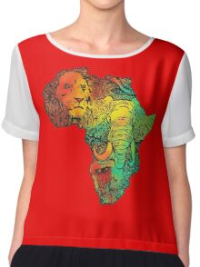 africa Chiffon Top