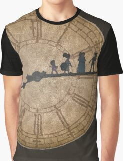 Stained Glass on the Clock Tower Graphic T-Shirt