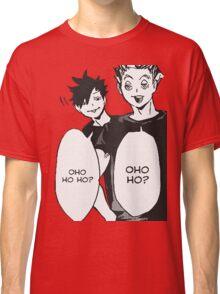 Haikyuu: Bokuto And Kuro OHO HO HO Classic T-Shirt