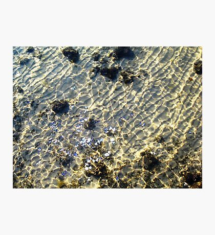 """Water Patterns"" - The Beauty Of An Unspoilt Island Photographic Print"