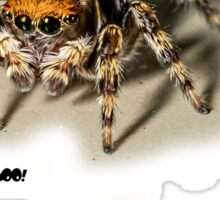 Spiders are People Too! no 2 Sticker