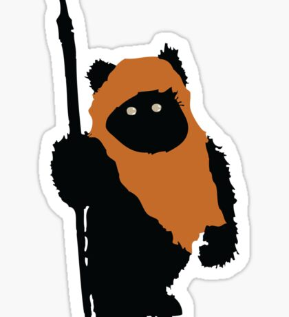 Ewok Bear, Star Wars Sticker
