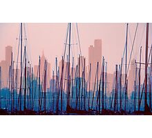 City Harbour Skyline Photographic Print