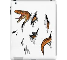 Velociraptor Escape iPad Case/Skin