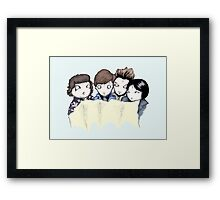 The Goonies Are Good Enough Framed Print