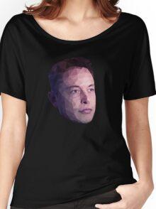 Low Poly Hero: Elon Musk – Shirts & Hoodies Women's Relaxed Fit T-Shirt