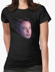 Low Poly Hero: Elon Musk – Shirts & Hoodies Womens Fitted T-Shirt
