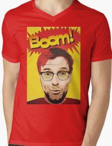 BOOM!!! Jurgen Klopp Mens V-Neck T-Shirt