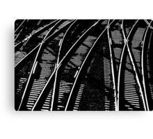 Lines Of Lines,Granville,Australia Canvas Print