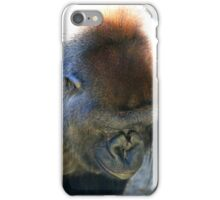 Gorilla - Harambe Cincinnati Zoo iPhone Case/Skin