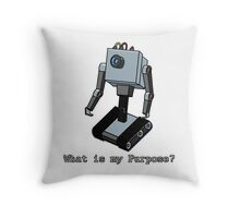 What is my Purpose? Throw Pillow