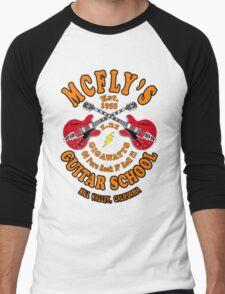 McFly's Guitar School Colour Men's Baseball ¾ T-Shirt