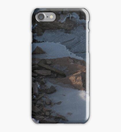 Railroad Spike and Ice iPhone Case/Skin