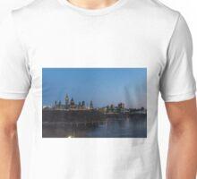 Canada's Capital city at night fall Unisex T-Shirt