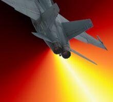 Shoot For The Sky - RAAF F/A-18 Design Sticker