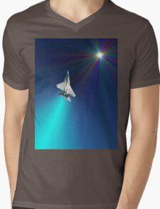 Shoot For The Sky - USAF F15D Design Mens V-Neck T-Shirt
