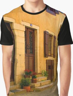 Street scene in France Graphic T-Shirt