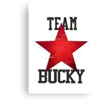 Team Bucky Canvas Print