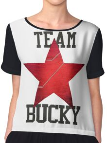 Team Bucky Chiffon Top