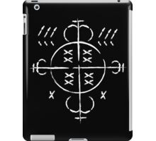 He who does evil, evil he will see iPad Case/Skin