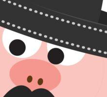 Cerdito Bandito Pig Sticker