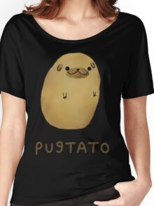 pug tato Women's Relaxed Fit T-Shirt