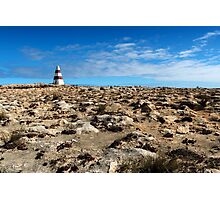 The Obelisk across the Clifftop Photographic Print