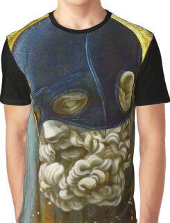 """Masked Hercules"" Graphic T-Shirt"