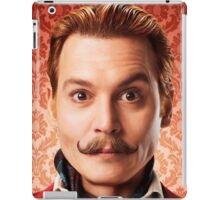 Johnny Depp Cool iPad Case/Skin