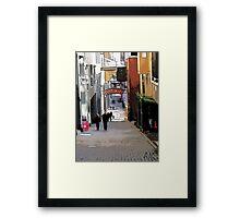 A Taste of Seattle, Photo / Digital Painting  Framed Print