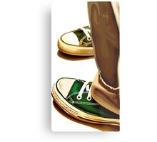 All Star running shoes Metal Print